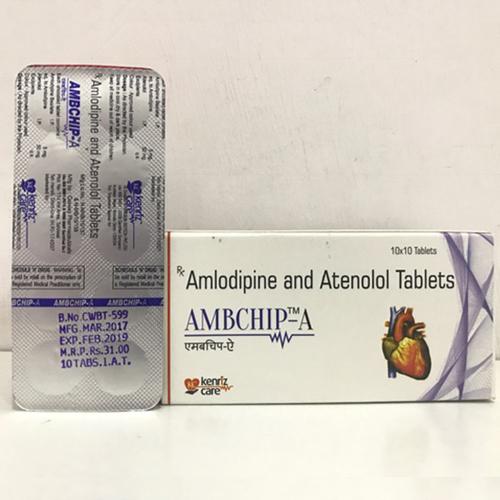 Amlodipine 5MG + Atenolol 50MG TABLET