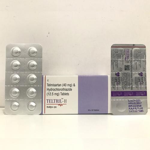 Telmisartan 40MG + Hydrochlorithiazide 12.5MG TABLET