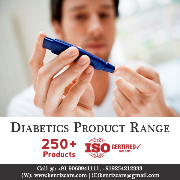 Diabetics Product Range