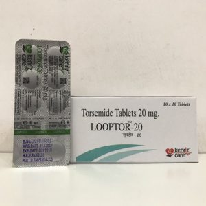 Torsemide Tablets 20 mg